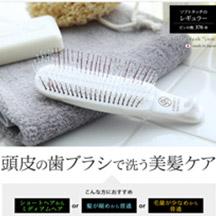 頭皮の歯ブラシ(日本製)